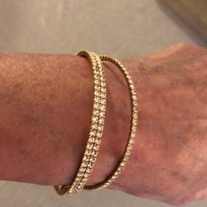 Jewelry - NWT crystal bracelets- single and double style
